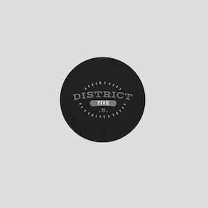 District 5 Mini Button
