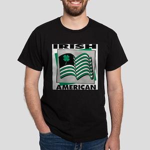 Irish American Flag Dark T-Shirt