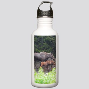 PhoneCase_moose_02 Stainless Water Bottle 1.0L