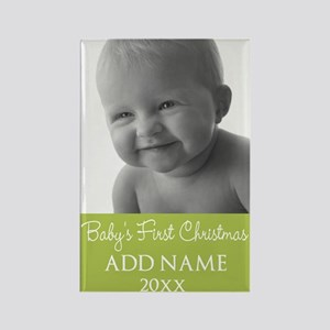 Baby Photo ustom Text Magnets