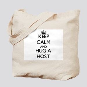 Keep Calm and Hug a Host Tote Bag