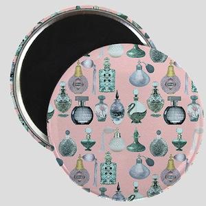 perfume bottles shower curtain Magnet