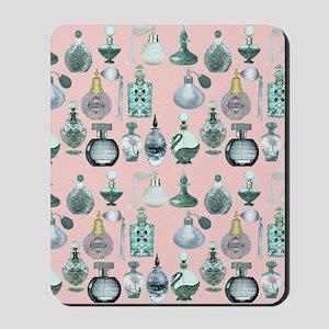 perfume bottles shower curtain Mousepad