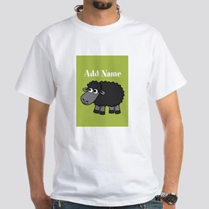 Black Sheep Add Name Lime T-Shirt