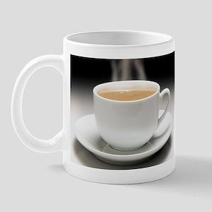 Entropy shown by heat loss Mug
