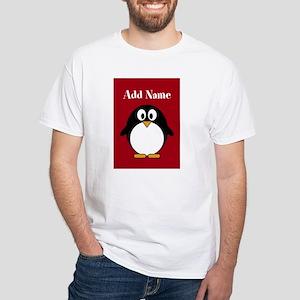 Modern Penguin Red T-Shirt