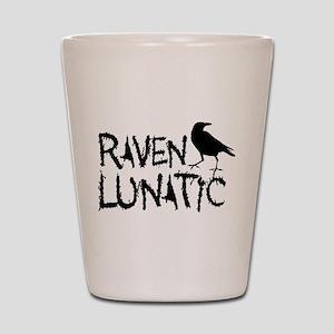 Raven Lunatic - Halloween Shot Glass