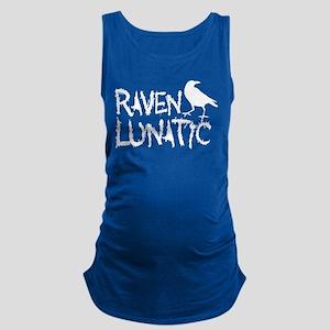 Raven Lunatic - Halloween Maternity Tank Top