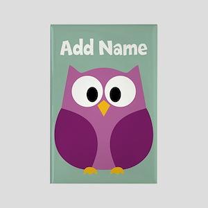 Modern Owl Mint Magnets