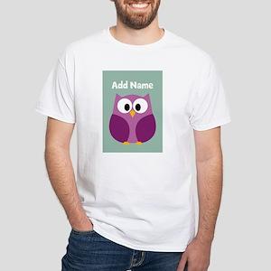 Modern Owl Mint T-Shirt