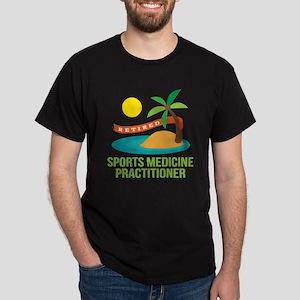 Retired Sports Medicine Practitioner Dark T-Shirt