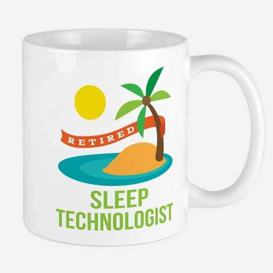 Retired Sleep Technologist Mug