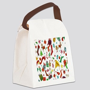 Stocking Stuffers Canvas Lunch Bag