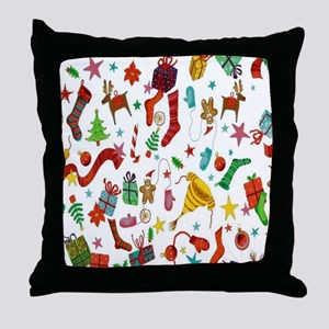 Stocking Stuffers Throw Pillow
