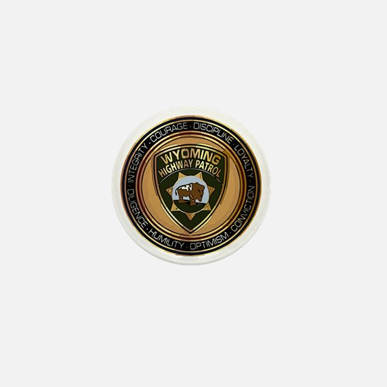 Wyoming HP logo Mini Button