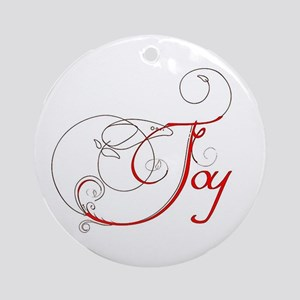 Joy! Ornament (Round)