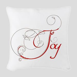 Joy! Woven Throw Pillow