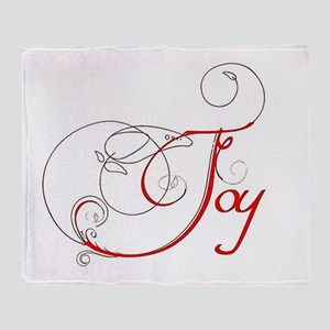 Joy! Throw Blanket