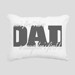firstherolove2 Rectangular Canvas Pillow