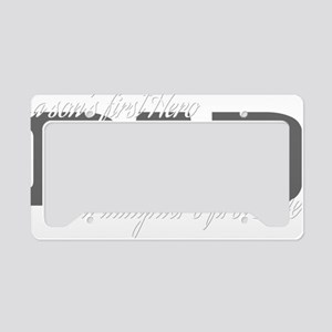 firstherolove2 License Plate Holder
