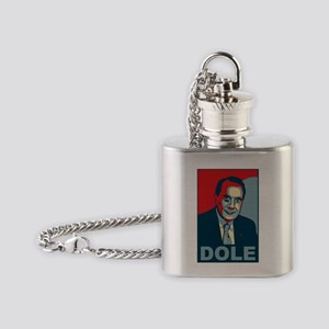 dole_poster Flask Necklace