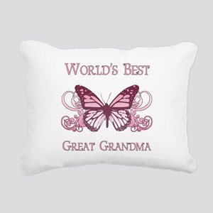World's Best Great Grandma (Butterfly) Rectangular
