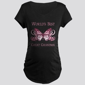 World's Best Great Grandma (Butterfly) Maternity D