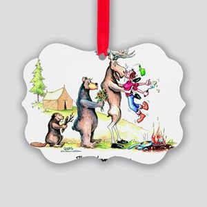 The Welcome Wagon Picture Ornament