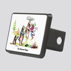 The Welcome Wagon Rectangular Hitch Cover
