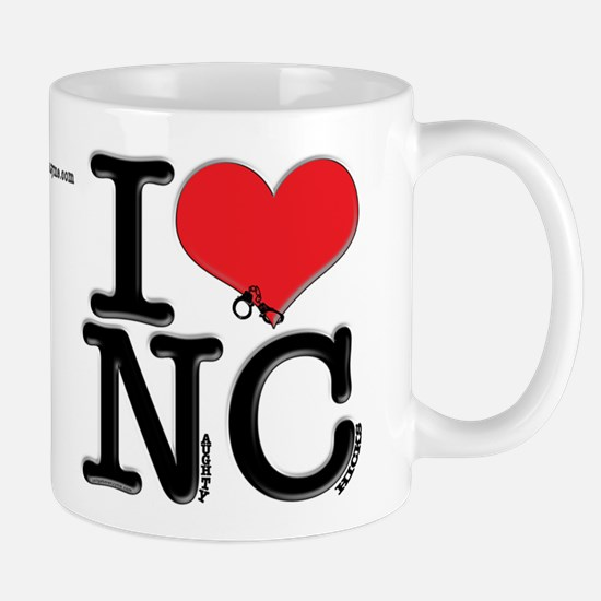 I Love Naughty-Chicks Mug