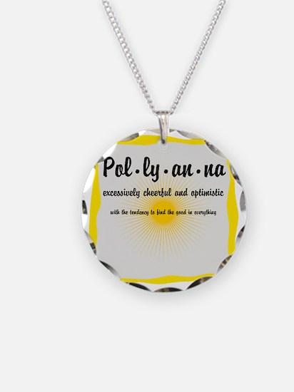 Pollyanna Definition Necklace