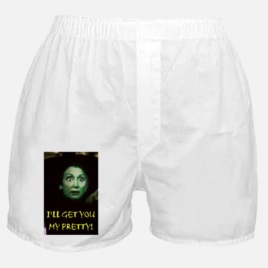 I'LL GET YOU MY PRETTY(large poster) Boxer Shorts