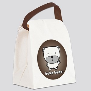 Baka Kuma - Introduction Canvas Lunch Bag