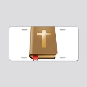 Bible - Christian Aluminum License Plate