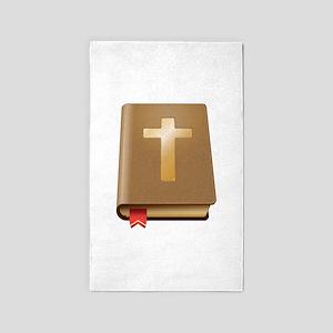 Bible - Christian 3'x5' Area Rug