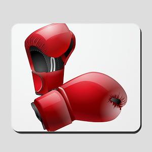 Boxing Gloves Mousepad