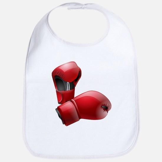 Boxing Gloves Bib