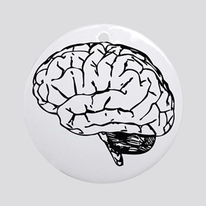 Brain Ornament (Round)