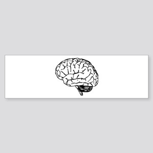 Brain Bumper Sticker