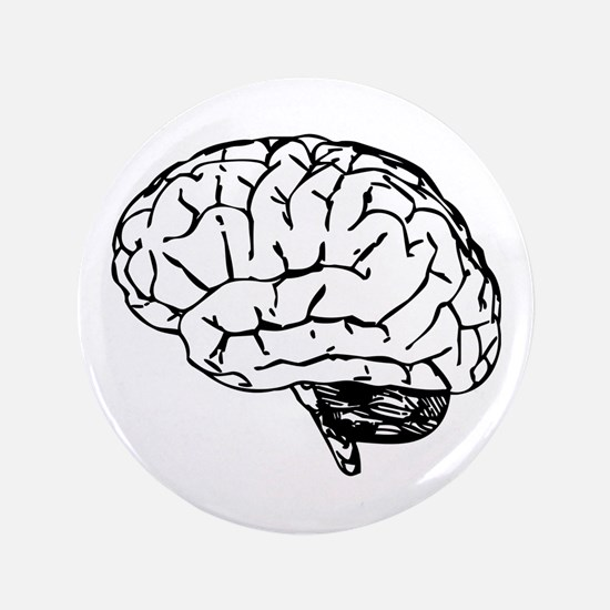 "Brain 3.5"" Button"