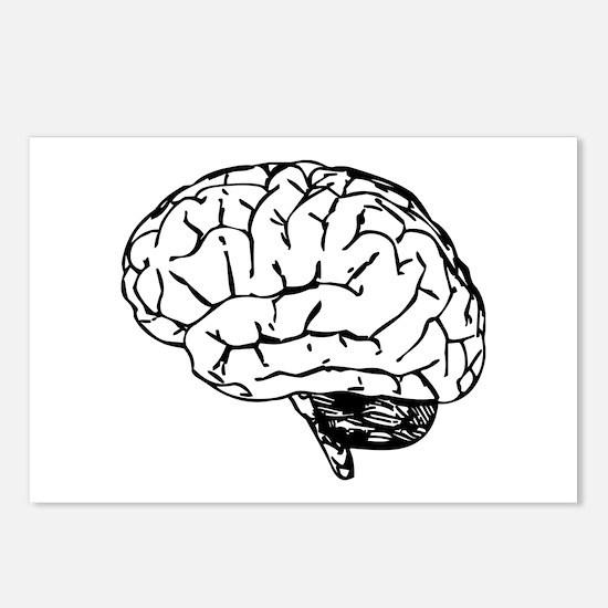 Brain Postcards (Package of 8)