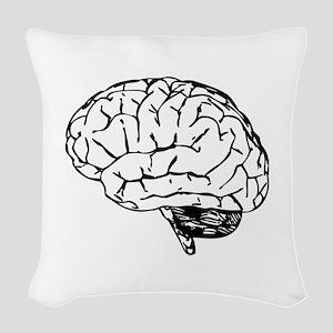 Brain Woven Throw Pillow