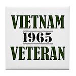 VIETNAM VETERAN 65 Tile Coaster