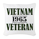 VIETNAM VETERAN 65 Woven Throw Pillow
