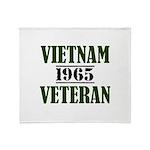 VIETNAM VETERAN 65 Throw Blanket