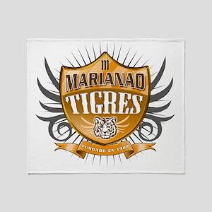 MarianaoShield_Dark Throw Blanket