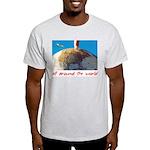 All Around The World Ash Grey T-Shirt