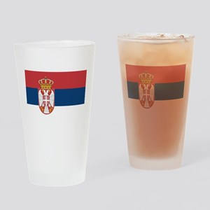 Serbia Drinking Glass