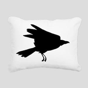 raven007 Rectangular Canvas Pillow