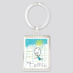 The Clumsy Guy 1 Portrait Keychain